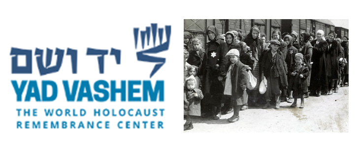 Banner The world Holocaust Remembrance Center